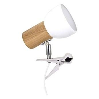 Spot-Light 2224174WK - Lampa z klipsem SVENDA 1xE27/60W/230V