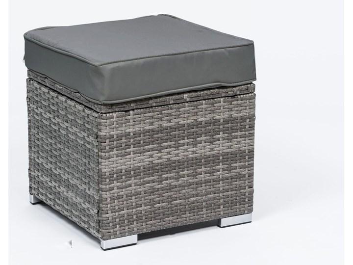 MEBLE OGRODOWE DUŻY ZESTAW  Z TECHNORATTANU - 1043 POPIEL Zestawy wypoczynkowe Zawartość zestawu Sofa