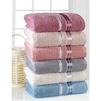 Zestaw 6 ręczników Pure Cotton Sedef, 50x85 cm