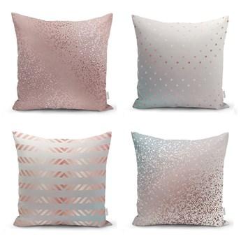 Zestaw 4 poszewek na poduszki Minimalist Cushion Covers All About Pastel, 45x45 cm