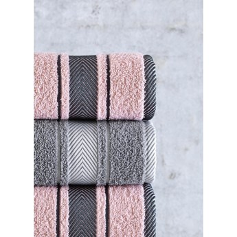 Zestaw 4 ręczników Pure Cotton Mila, 50x85 cm