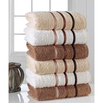 Zestaw 6 ręczników Pure Cotton Towel, 50x90 cm