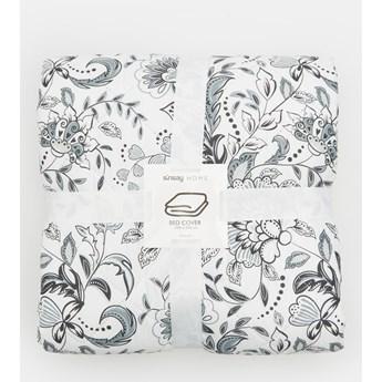 Sinsay - Narzuta na łóżko 220x240cm - Jasny szary