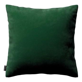 Poszewka Kinga na poduszkę, butelkowa zieleń, 43 × 43 cm, Velvet