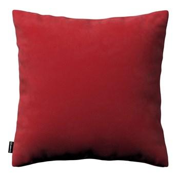 Poszewka Kinga na poduszkę, intensywna czerwień, 43 × 43 cm, Velvet
