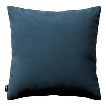 Poszewka Kinga na poduszkę, pruski błękit, 43 × 43 cm, Velvet