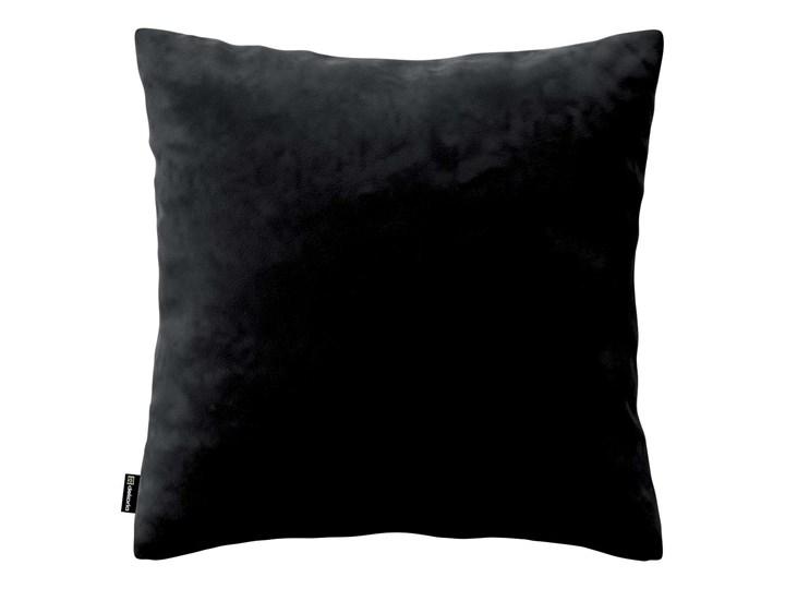 Poszewka Kinga na poduszkę, głęboka czerń, 43 × 43 cm, Velvet 45x65 cm Prostokątne Poliester Kwadratowe 40x60 cm 43x43 cm 60x60 cm 50x50 cm Poszewka dekoracyjna 45x45 cm Wzór Jednolity