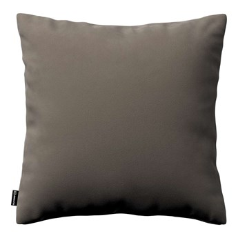 Poszewka Kinga na poduszkę, srebrzysty beż, 43 × 43 cm, Velvet