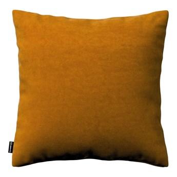 Poszewka Kinga na poduszkę, miodowy, 43 × 43 cm, Velvet