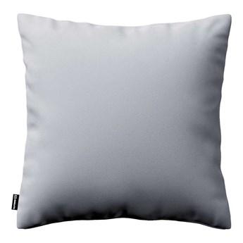 Poszewka Kinga na poduszkę, srebrzysty szary, 43 × 43 cm, Velvet