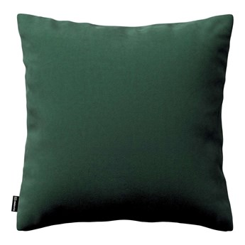 Poszewka Kinga na poduszkę, ciemny zielony, 43 × 43 cm, Velvet