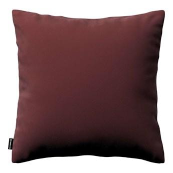 Poszewka Kinga na poduszkę, bordowy, 43 × 43 cm, Velvet