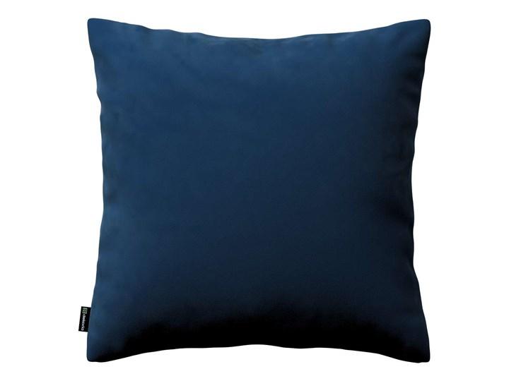 Poszewka Kinga na poduszkę, granat, 43 × 43 cm, Velvet