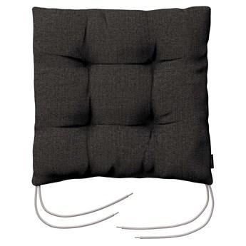 Siedzisko Jacek na krzesło, brązowo-szary, 38 × 38 × 8 cm, Etna