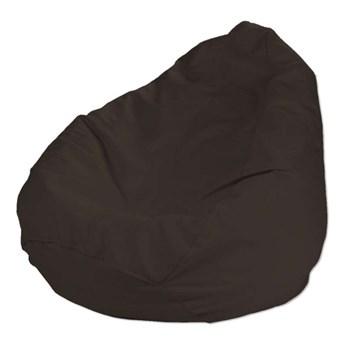 Worek do siedzenia, Coffe (czekoladowy brąz), Ø50 × 85 cm, Cotton Panama