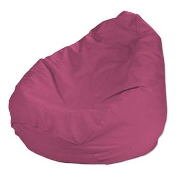 Worek do siedzenia, różowy, Ø50 × 85 cm, Loneta