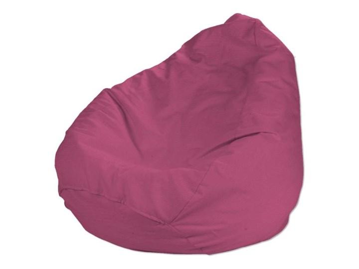 Worek do siedzenia, różowy, Ø50 × 85 cm, Loneta Tworzywo sztuczne Siedzisko Tkanina Pomieszczenie Pokój nastolatka Styl Nowoczesny