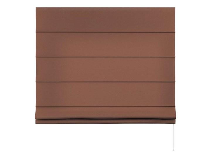 Roleta rzymska Capri, brązowy, szer.80 × dł.170 cm, Loneta Pomieszczenie Biuro i pracownia Typ Roleta zaciemniająca