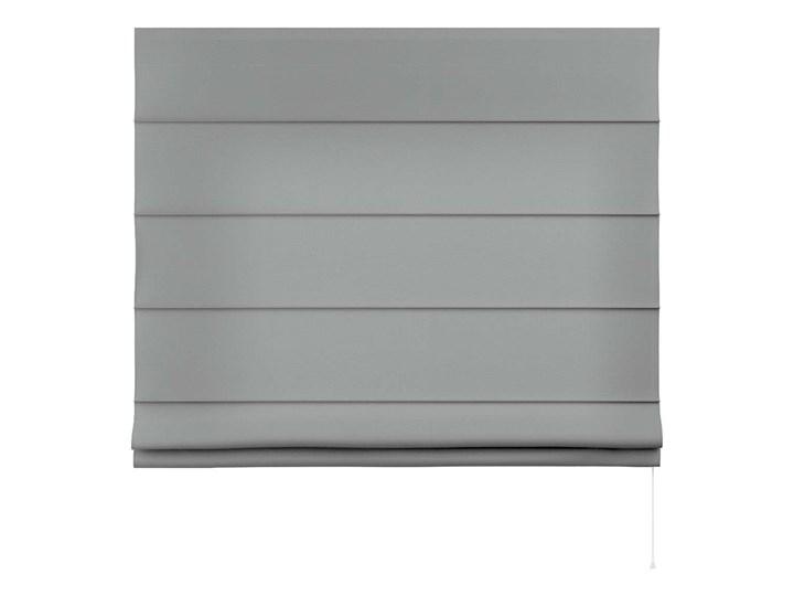Roleta rzymska Capri, szary, szer.80 × dł.170 cm, Loneta Kolor Biały