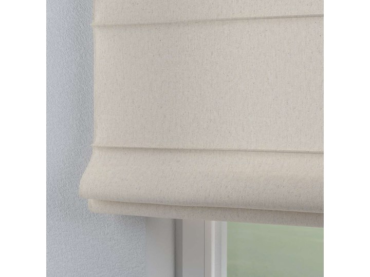 Roleta rzymska Capri, melanż szaro-beżowy, szer.80 × dł.170 cm, Loneta Typ Roleta zaciemniająca