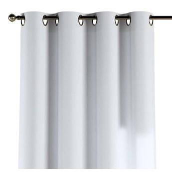 Zasłona na kółkach 1 szt., śmietankowa biel, 1szt 130 × 260 cm, Loneta