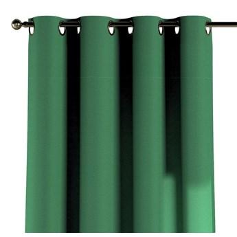 Zasłona na kółkach 1 szt., butelkowa zieleń, 1szt 130 × 260 cm, Loneta