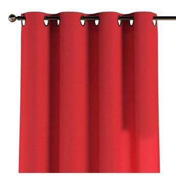 Zasłona na kółkach 1 szt., czerwony, 1szt 130 × 260 cm, Loneta