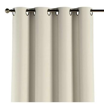 Zasłona na kółkach 1 szt., śmietankowa biel, 1szt 130 × 260 cm, Velvet