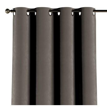 Zasłona na kółkach 1 szt., srebrzysty beż, 1szt 130 × 260 cm, Velvet