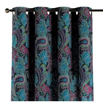 Zasłona na kółkach 1 szt., wielokolorowy paisley, 1szt 130 × 260 cm, Velvet