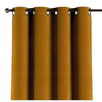 Zasłona na kółkach 1 szt., miodowy, 1szt 130 × 260 cm, Velvet