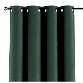 Zasłona na kółkach 1 szt., ciemny zielony, 1szt 130 × 260 cm, Velvet