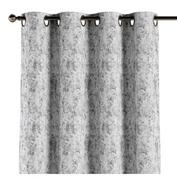 Zasłona na kółkach 1 szt., szaro-biały, 1szt 130 × 260 cm, Velvet