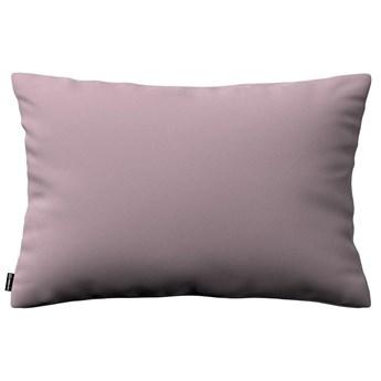 Poszewka Kinga na poduszkę prostokątną, zgaszony róż, 60 × 40 cm, Velvet