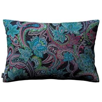 Poszewka Kinga na poduszkę prostokątną, wielokolorowy paisley, 60 × 40 cm, Velvet