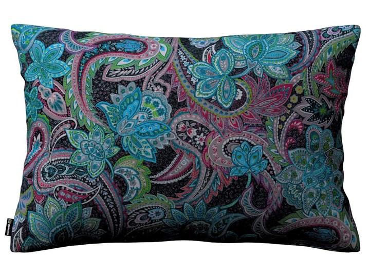 Poszewka Kinga na poduszkę prostokątną, wielokolorowy paisley, 60 × 40 cm, Velvet Poszewka dekoracyjna Poliester Prostokątne Wzór Roślinny 45x65 cm 40x60 cm Wzór Abstrakcyjny