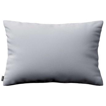 Poszewka Kinga na poduszkę prostokątną, srebrzysty szary, 60 × 40 cm, Velvet
