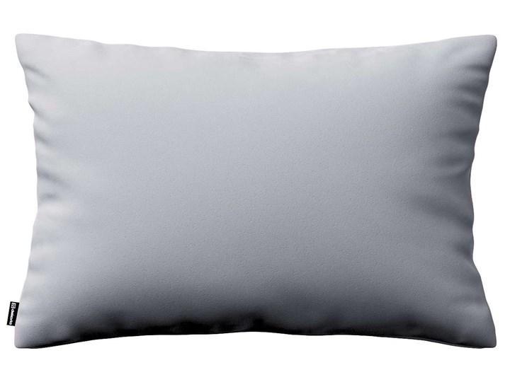 Poszewka Kinga na poduszkę prostokątną, srebrzysty szary, 60 × 40 cm, Velvet 40x60 cm Poliester Prostokątne Poszewka dekoracyjna 45x65 cm Wzór Jednolity