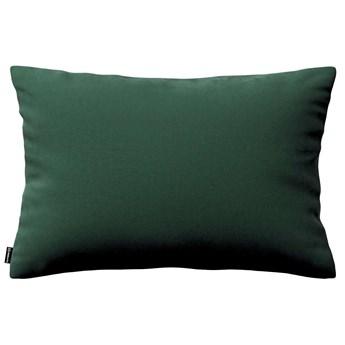 Poszewka Kinga na poduszkę prostokątną, ciemny zielony, 60 × 40 cm, Velvet