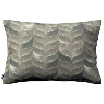 Poszewka Kinga na poduszkę prostokątną, odcienie brązu, beżu i zieleni, 60 × 40 cm, Abigail