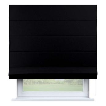 Roleta rzymska Capri, czarny, 80 × 170 cm, Blackout - zaciemniające
