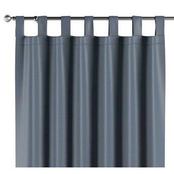Zasłona zaciemniająca na szelkach 1 szt., ciemny niebieski o wyraźnej strukturze, 1szt 140 × 260 cm, Blackout - zaciemniające