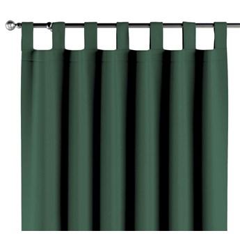 Zasłona zaciemniająca na szelkach 1 szt., butelkowa zieleń, 1szt 140 × 260 cm, Blackout - zaciemniające