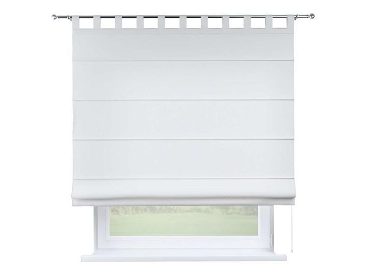 Roleta rzymska Verona, śmietankowa biel, szer.80 × dł.170 cm, Loneta Typ Roleta transparentna Typ Roleta przeciwsłoneczna