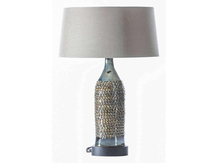 Lampa stołowa Royal Green wys. 67cm, 45 × 45 × 67 cm Lampa z kloszem Kolor Srebrny Kategoria Lampy stołowe