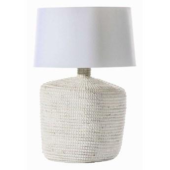 Lampa stołowa Coastal White wys. 66cm, 45 × 45 × 66 cm