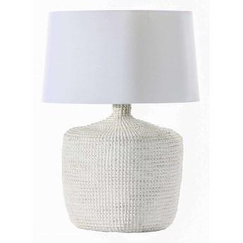 Lampa stołowa Coastal White wys. 62cm, 45 × 45 × 62 cm