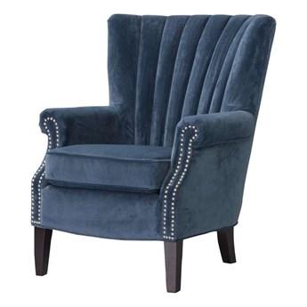 Fotel Scarlett Velvet Midnight 78x83x101cm, 80 × 83 × 101 cm