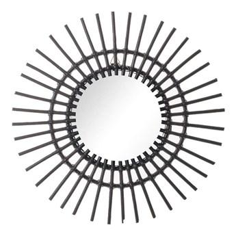 Lustro okrągłe Kairos 55cm black, 55 × 3 × 55 cm