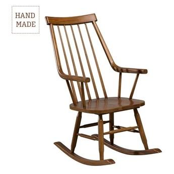 Fotel bujany Henry natural, 54 × 44 × 114